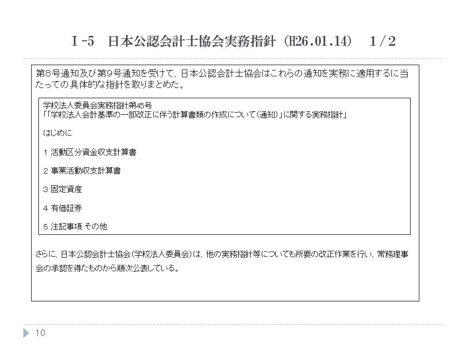 日本公認会計士協会実務指針(H26.01.14) 1/2